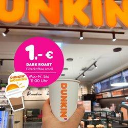 Dunkin' Donuts Katalog ( 6 Tage übrig )