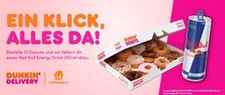 Dunkin' Donuts Gutschein ( 2 Tage übrig )