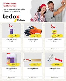 tedox Katalog ( Läuft morgen ab )