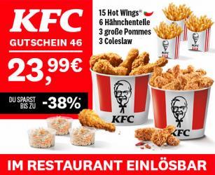 Angebote von Restaurants im KFC Prospekt ( 10 Tage übrig)