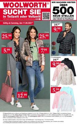 Angebote von Kaufhäuser im Woolworth Prospekt ( Läuft morgen ab)