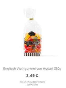 Hussel Gutschein ( 12 Tage übrig )