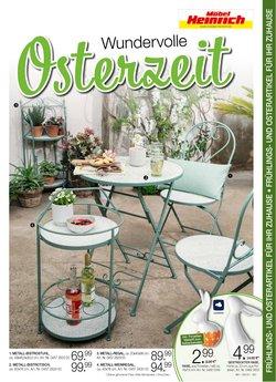 Angebote von Ostern im Möbel Heinrich Prospekt ( 8 Tage übrig)