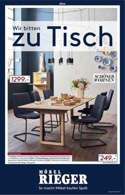 Angebote von Möbel Rieger im Möbel Rieger Prospekt ( Läuft morgen ab)