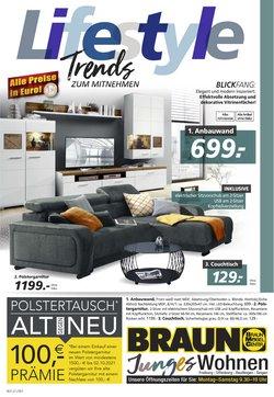 Angebote von Möbel Braun im Möbel Braun Prospekt ( Mehr als 30 Tage)