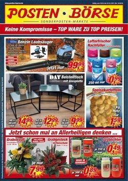 Posten Börse Katalog ( Gestern veröffentlicht)