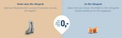 Angebote von Optiker und Hörzentren im Kind Hörgeräte Prospekt in Berlin