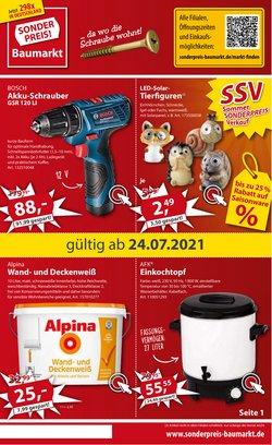 Angebote von Sonderpreis Baumarkt im Sonderpreis Baumarkt Prospekt ( Läuft heute ab)