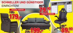 Angebote von Möbelfundgrube im Homburg Prospekt