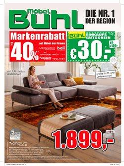 Angebote von Möbel Buhl im Fulda Prospekt