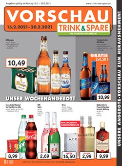 Trink und Spare Katalog ( Abgelaufen )