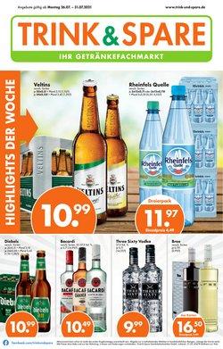 Angebote von Trink und Spare im Trink und Spare Prospekt ( Läuft morgen ab)