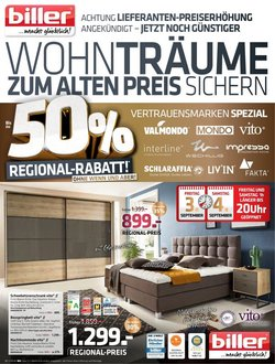 Angebote von Möbel biller im Möbel biller Prospekt ( 12 Tage übrig)