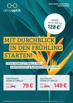 Angebote von Optiker und Hörzentren im Aktiv Optik Prospekt in Frankfurt am Main ( Gestern veröffentlicht )