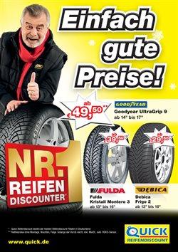 Angebote von Quick Reifendiscount im Berlin Prospekt