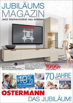 Angebote von Möbelhäuser im Ostermann Möbel Prospekt ( Läuft heute ab)