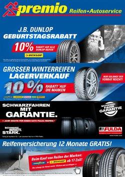 Premio Reifen Katalog ( Abgelaufen )