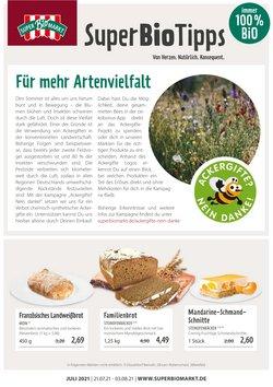 Angebote von Biomärkte im Superbiomarkt Prospekt ( 10 Tage übrig)