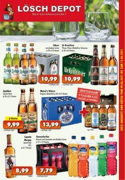 Angebote von Supermärkte im Löschdepot Prospekt ( Läuft heute ab)