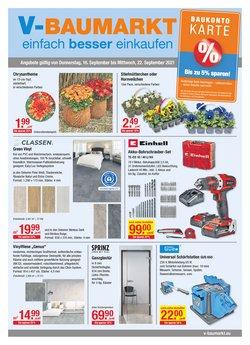 Angebote von V Baumarkt im V Baumarkt Prospekt ( 5 Tage übrig)