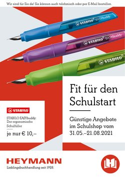 Angebote von Heymann Bücher im Heymann Bücher Prospekt ( 20 Tage übrig)