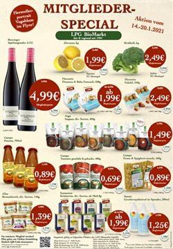 Angebote von Biomärkte im LPG Biomarkt Prospekt in Berlin ( Läuft morgen ab )