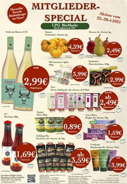 LPG Biomarkt Katalog ( Neu )