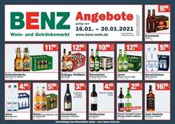 Benz Getränke Katalog ( 3 Tage übrig )