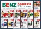 Benz Getränke Katalog ( Abgelaufen )
