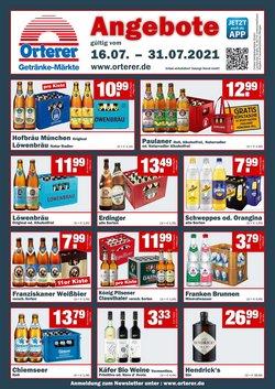 Angebote von Benz Getränke im Benz Getränke Prospekt ( 7 Tage übrig)