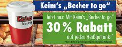 Angebote von Bäckerei Keim im Leipzig Prospekt