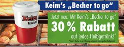 Angebote von Bäckerei Keim im Reutlingen Prospekt