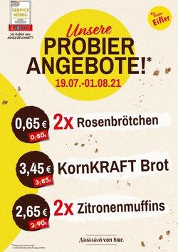 Angebote von Restaurants im Bäcker Eifler Prospekt ( Läuft heute ab)