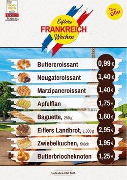 Angebote von Bäcker Eifler im Bäcker Eifler Prospekt ( 6 Tage übrig)