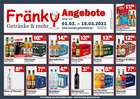 Fränky Getränke Katalog ( Abgelaufen )