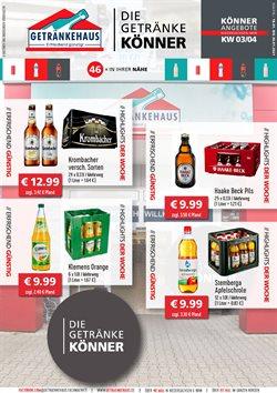 Getränkehaus Katalog ( Vor 3 Tagen )