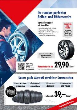Angebote von Auto, Motorrad und Werkstatt im AD Auto Dienst Prospekt ( Läuft morgen ab)