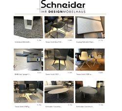 Möbel Schneider Katalog ( Abgelaufen )