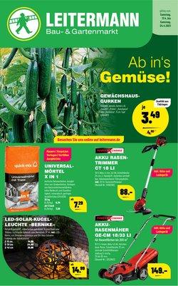 Angebote von Baumärkte und Gartencenter im Leitermann Baumarkt Prospekt in Berlin ( 2 Tage übrig )