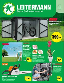Angebote von Leitermann Baumarkt im Leitermann Baumarkt Prospekt ( Läuft heute ab)