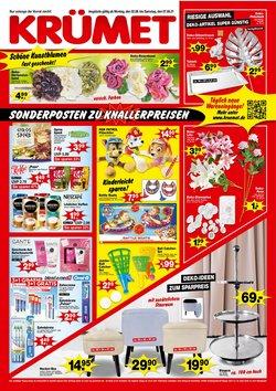 Angebote von Krümet Sonderposten im Krümet Sonderposten Prospekt ( 6 Tage übrig)
