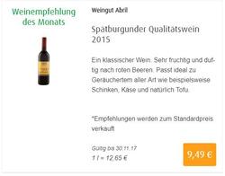 Angebote von Aleco Biomarkt im Bremen Prospekt