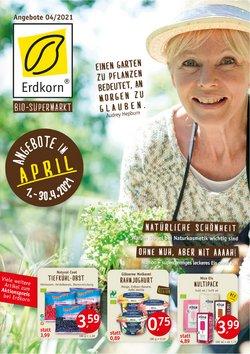 Angebote von Biomärkte im Erdkorn Biomarkrt Prospekt ( 7 Tage übrig )