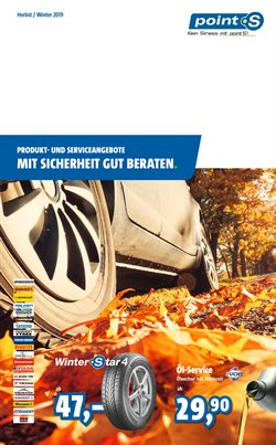 Angebote von Auto, Motorrad und Werkstatt im point S Prospekt in Ingolstadt