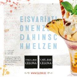 Angebote von Restaurants im Cafe & Bar Celona Prospekt ( Mehr als 30 Tage)