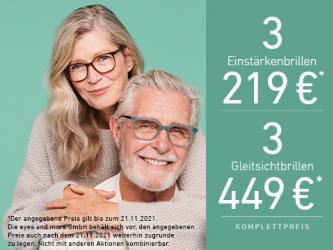Angebote von Optiker und Hörzentren im eyes and more Prospekt ( Mehr als 30 Tage)