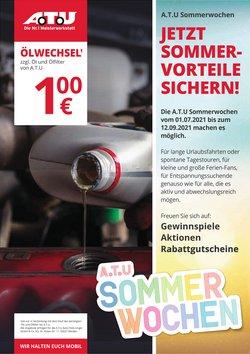 Angebote von Auto, Motorrad und Werkstatt im ATU Prospekt ( Läuft morgen ab)