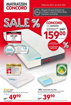 Matratzen Concord Katalog ( Abgelaufen )