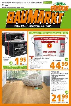 Globus Baumarkt Katalog ( Läuft heute ab )