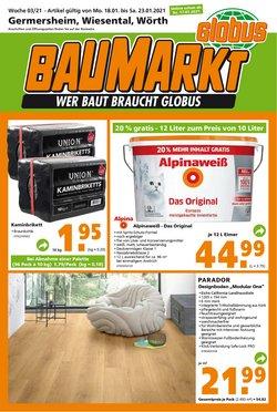 Globus Baumarkt Katalog ( Neu )